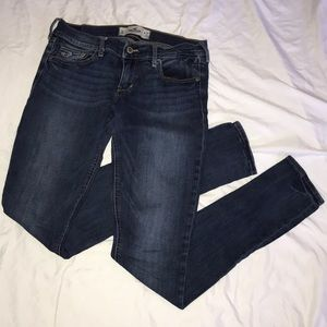Hollister SoCal Stretch Skinny Jeans 5L 27 33""
